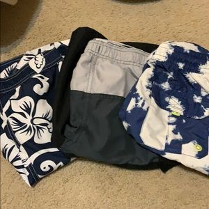 Other - 3 pairs boys swimming trunks
